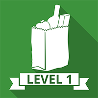 Level 1 Food Safety – Retail icon